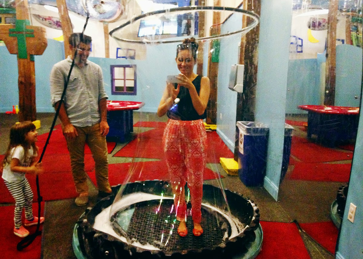ohdeardrea new orleans childrens museum bubble
